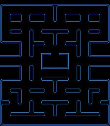 Maze clipart pacman. Pac man logos by