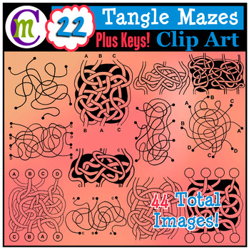 Tangle mazes clip art. Maze clipart pathway picture freeuse stock