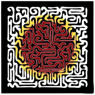 Maze of peace. Download for free png