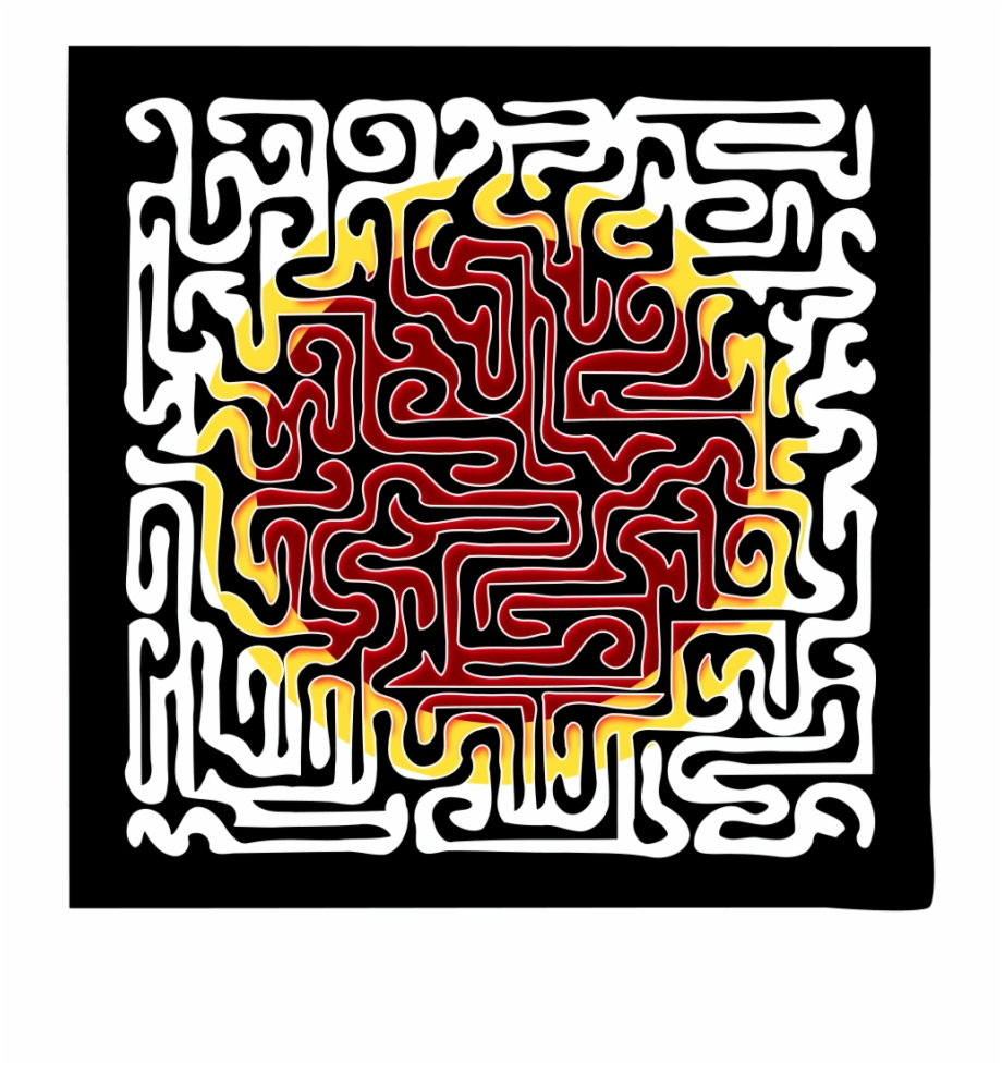 Peace maze. Download for free png