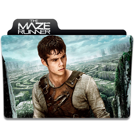 Maze runner game png. Movie folder icon the