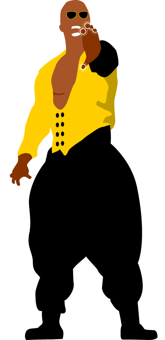 Mc hammer png. U can t touch