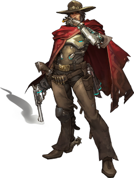 Mccree hat png. Overwatch wiki