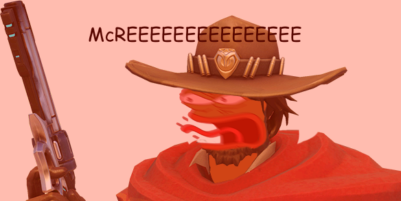 Funny mccree png. Smile for the camera