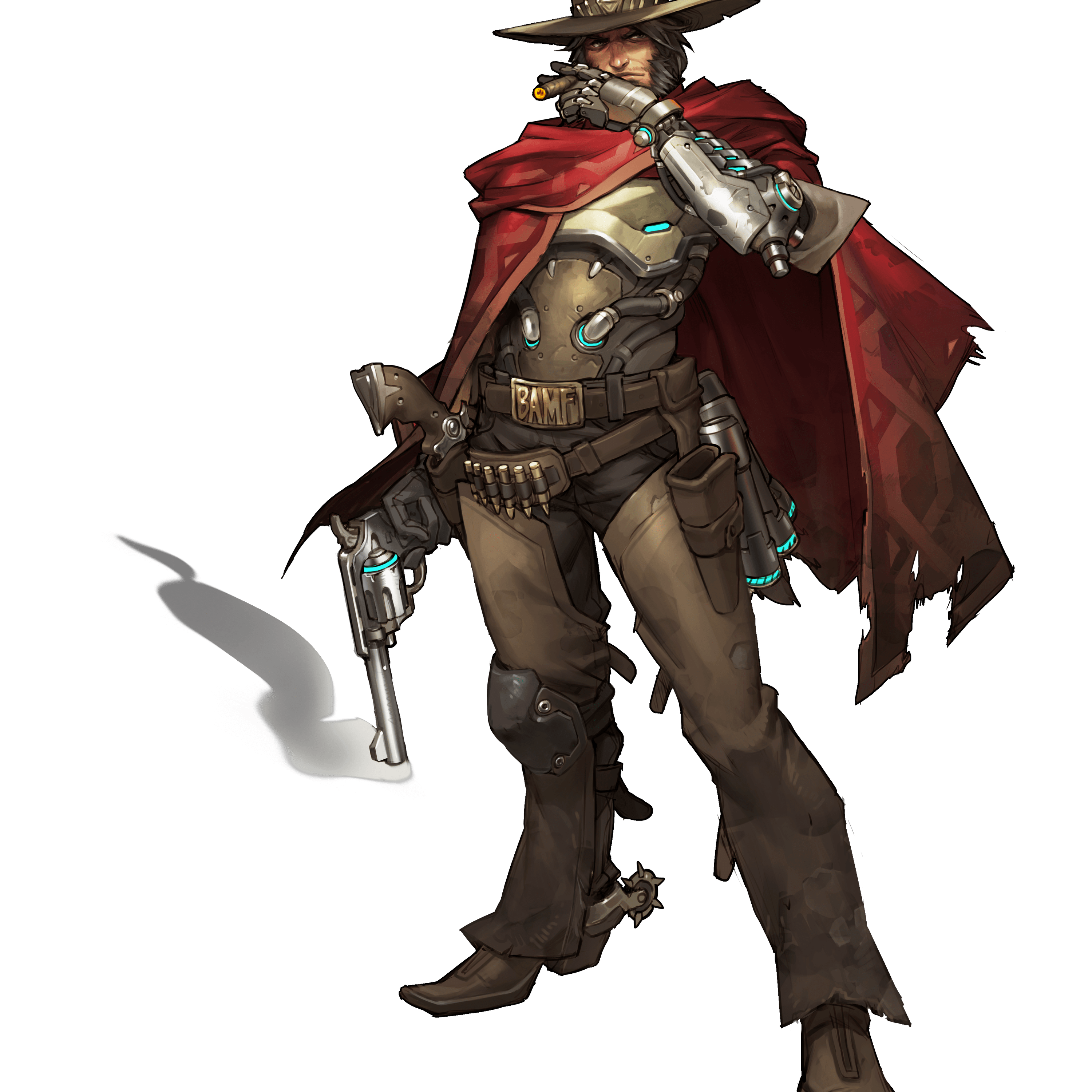 Transparent reaper overwatch. Mccree png stickpng download