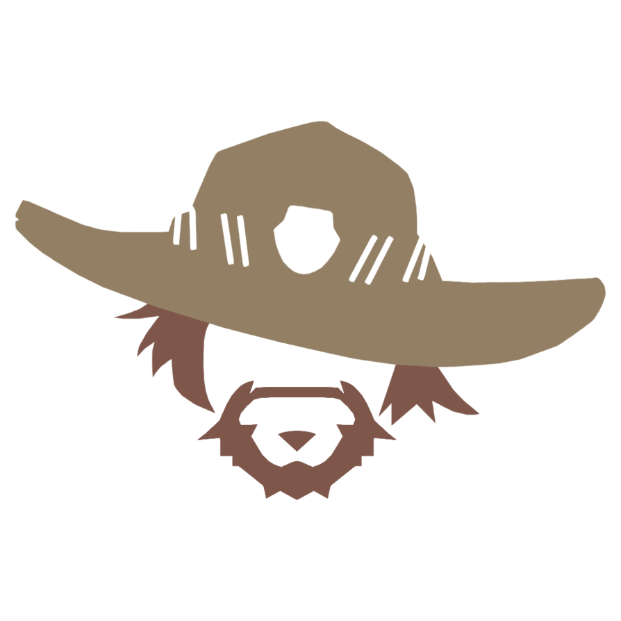 Mccree hat png. By robert nww on