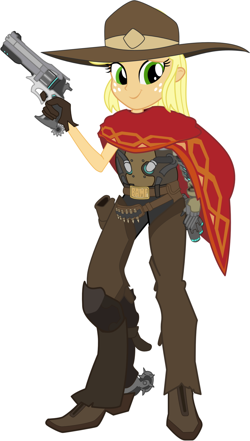 Mccree png ahegao. Applejack as overwatch by