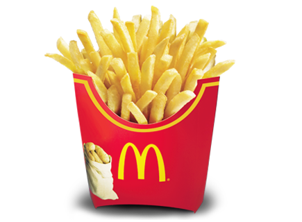 Mcdonald fries png. Mcdonalds ourfood