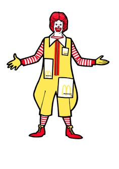 Mcdonalds clipart ronald mcdonald. Goes to the zoo