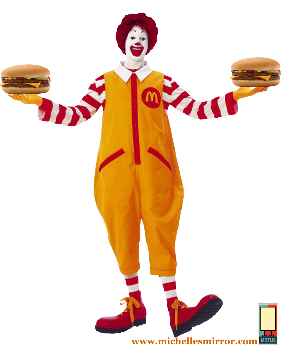Mcdonalds clown png. The one we ve