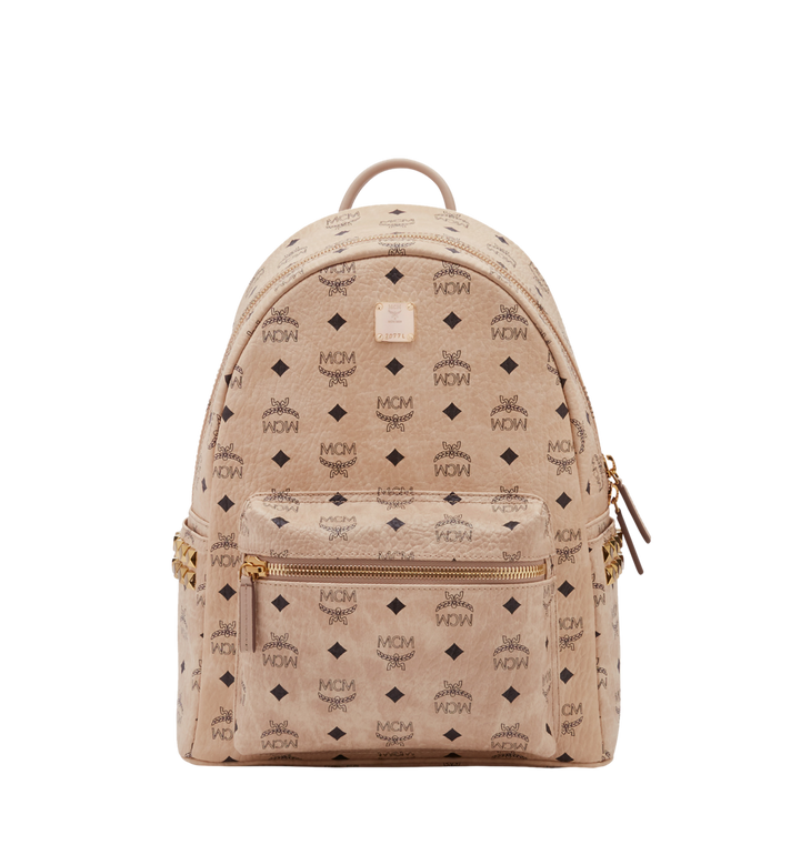 Mcm backpack png. Small medium stark side