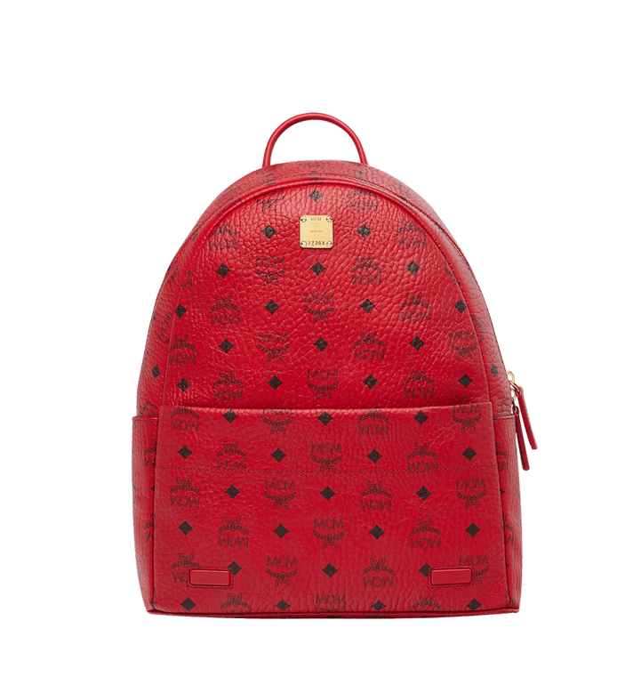 Mcm backpack png. Cm in red