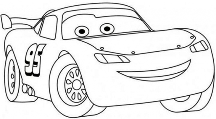 Cars clipart lightning mcqueen. Disney coloring pages bourseauxkamas