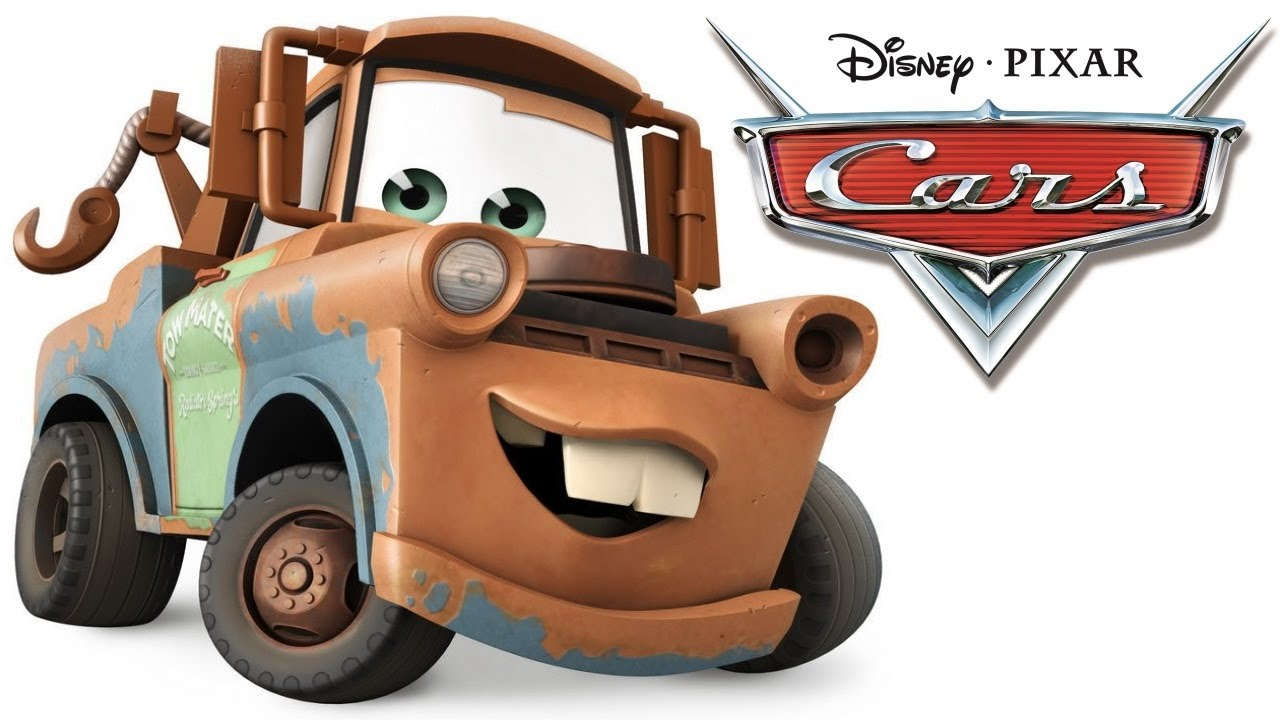 Mcqueen clipart car character. Cars movie mater hook