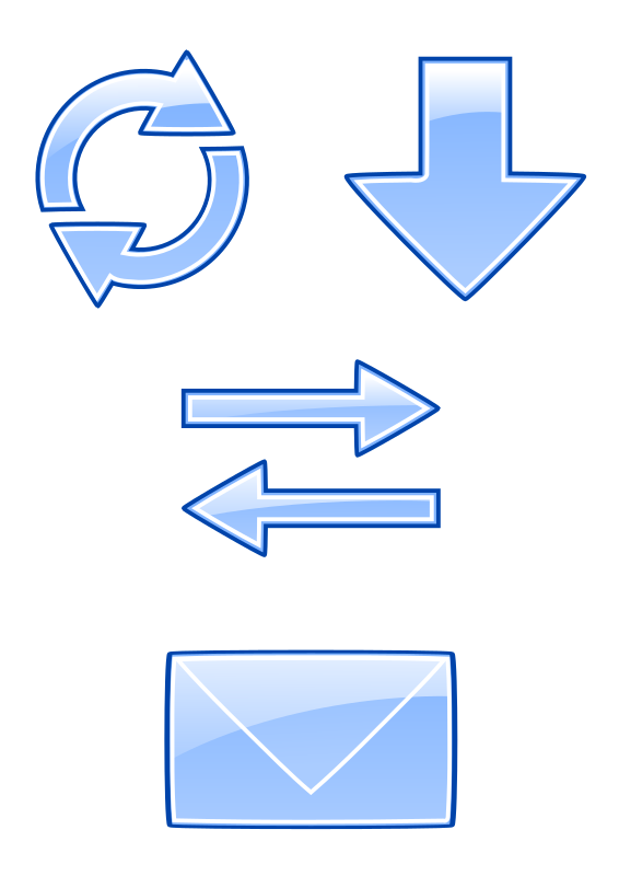 Mdn svg vector. Start icon email kyber