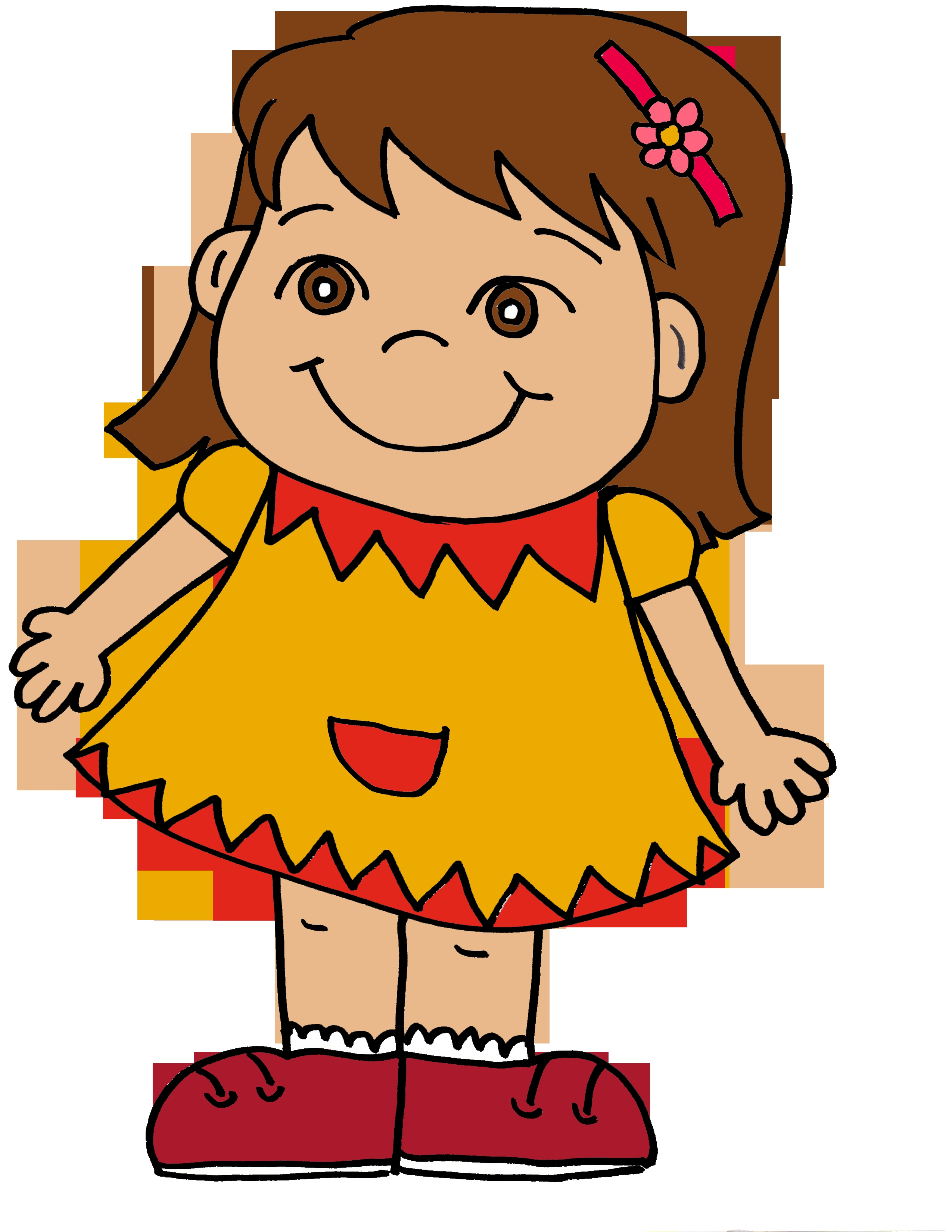Me clipart girl. Awesome happy collection digital