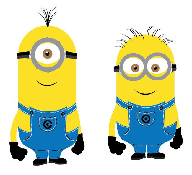 Me clipart vector. Despicable minions free site