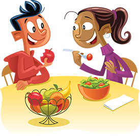 Meal clipart child food. Become a myplate champion
