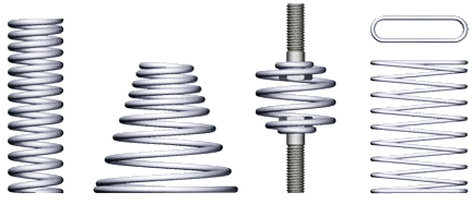 Mechanical spring png. Original springs come in