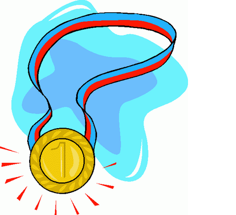 Medal clipart swimming medal. Max gold