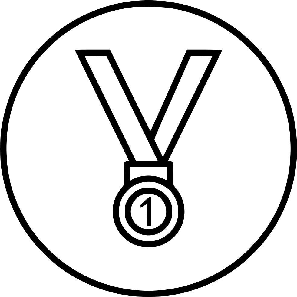 Medal drawing color. Gold at getdrawings com