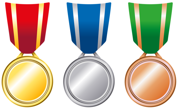 Medallion vector certificate. Gold medal clipart at
