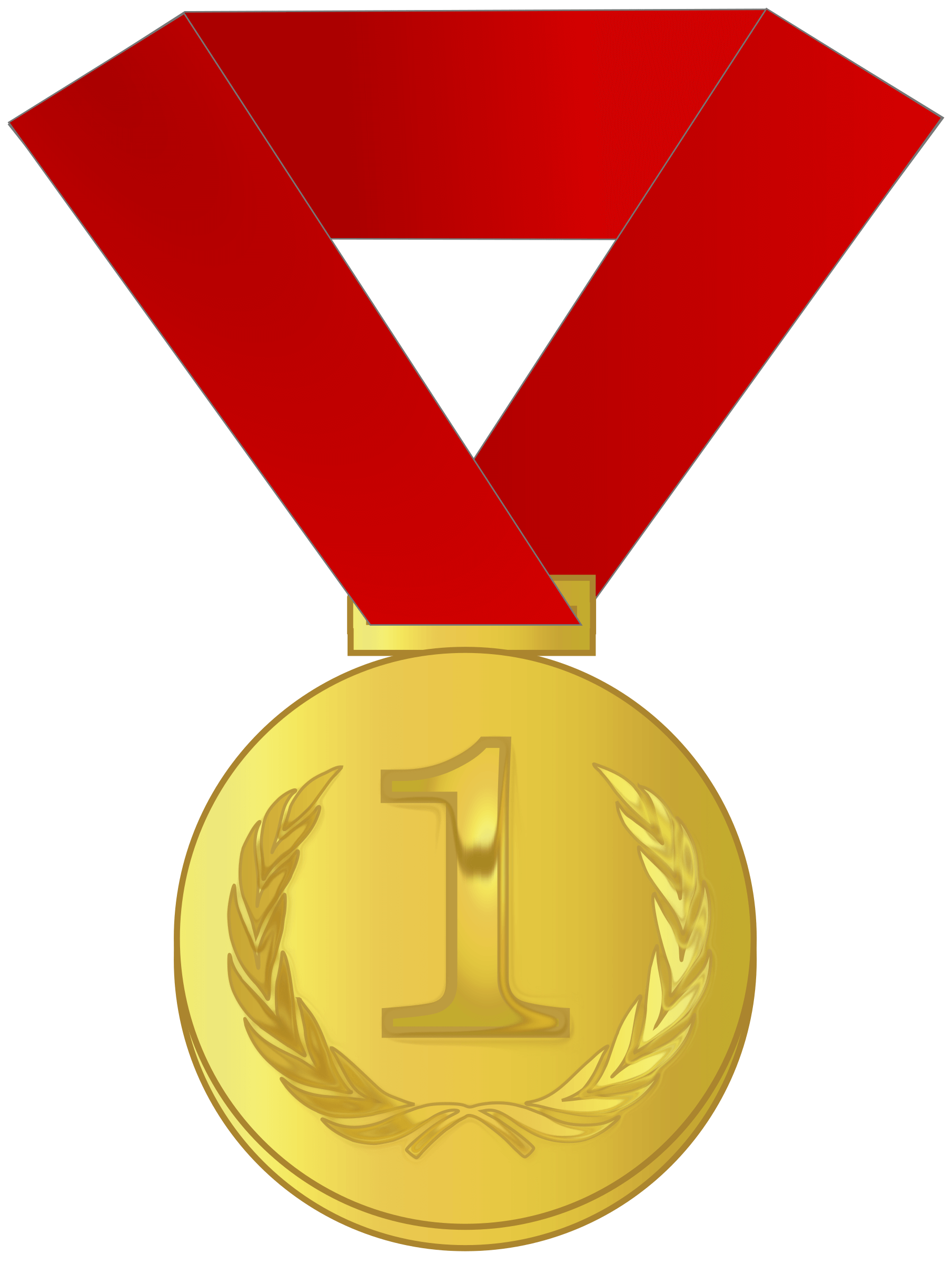 Medal drawing golden. Gold star template free