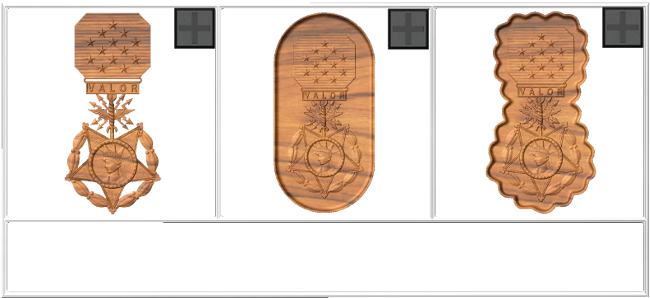 Medal drawing honor. Cnc military emblems and