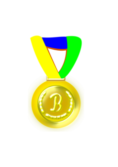 Medal drawing platinum. Award ribbon computer icons