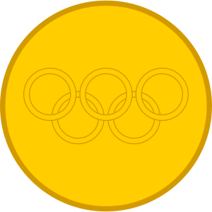 Medals drawing olympic medal. Archivo gold svg wikipedia