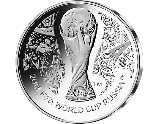 Medals drawing silver. Fifa world cup