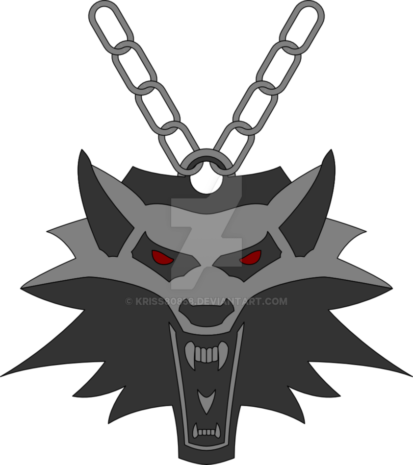 Medallion vector. The witcher s by