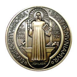 Medals drawing retro. The medal of saint