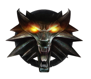 Medallion vector witcher 3 wolf. The logo