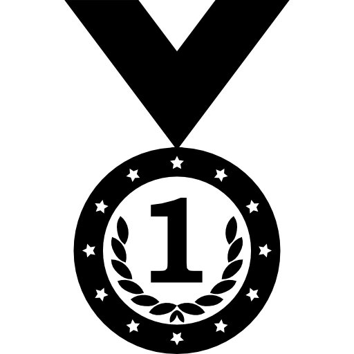Medallion vector wreath. Medal variant with and