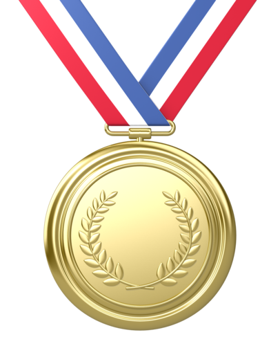 Medals drawing gold medal. Free huge freebie