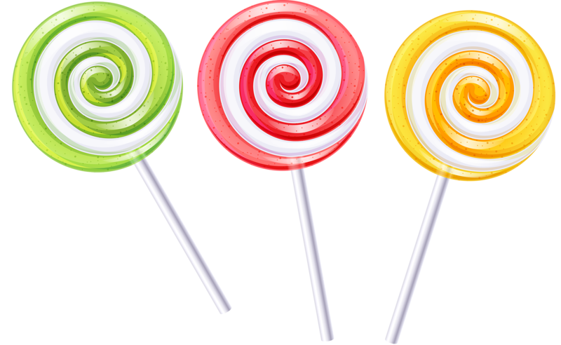 Medals drawing lollipop. Ice cream candy pretty