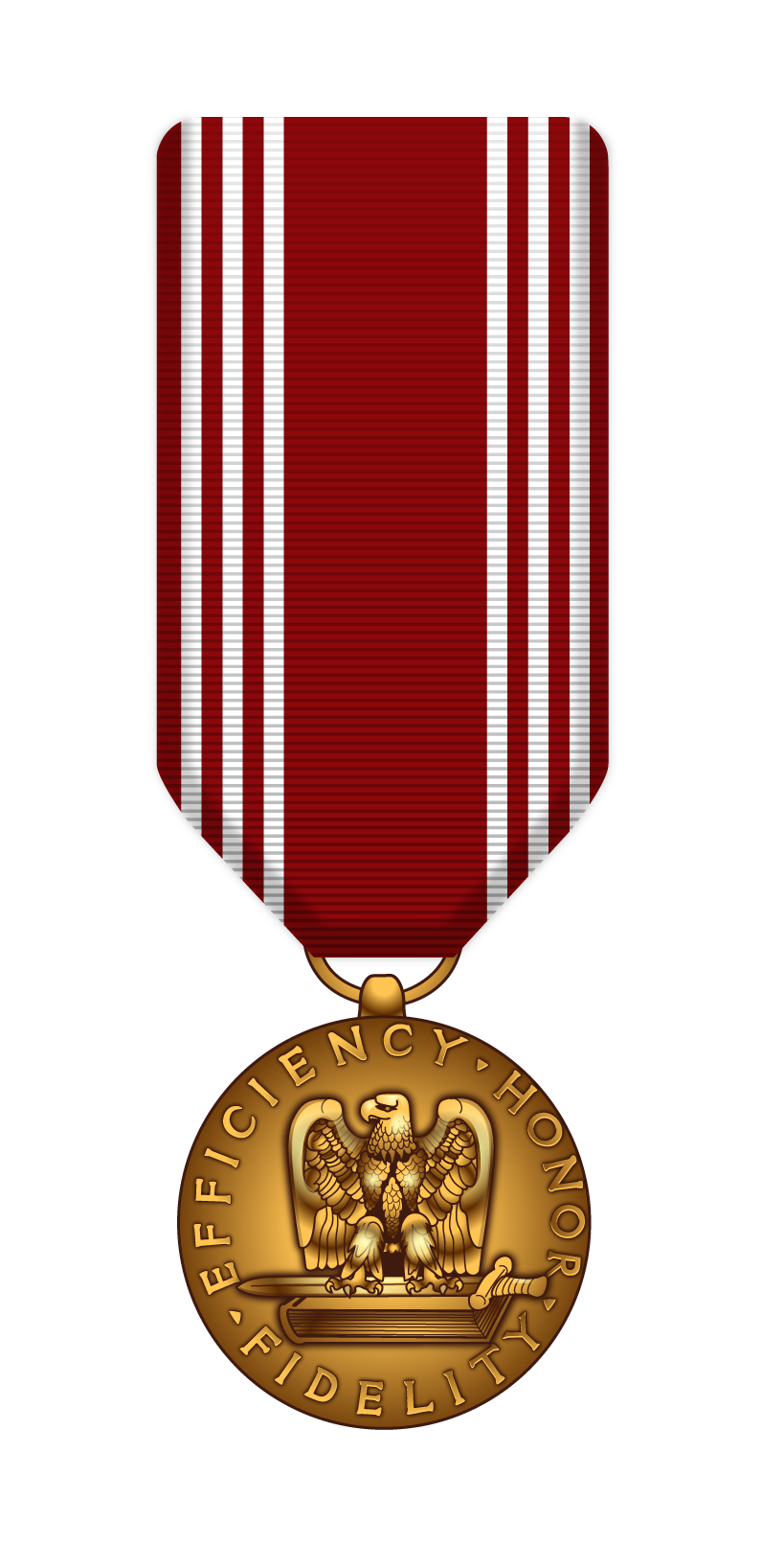 Medals drawing military medal. Army good conduct stuff