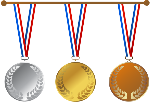 Medals drawing olympics medal. Graphic design sports for