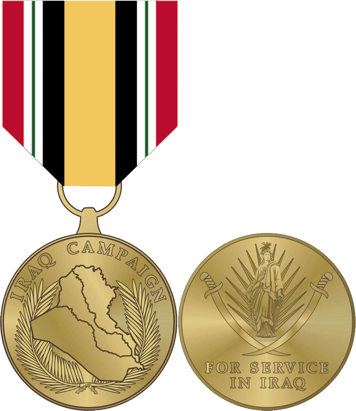 Medals drawing silver. Iraq campaign medal wikipedia