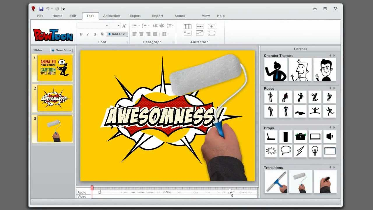 video clipart video presentation