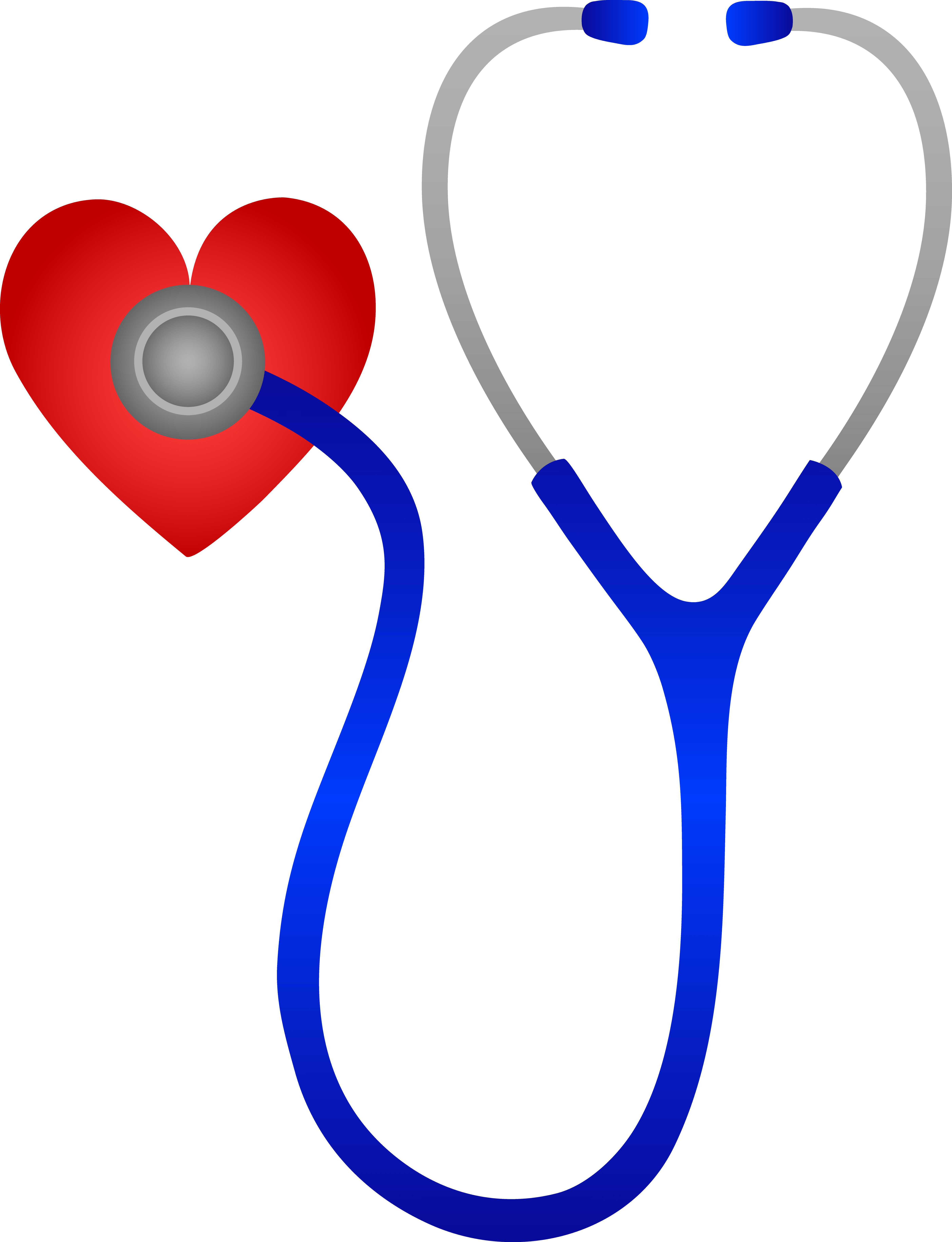 Transparent stethoscope nurse practitioner. For physicians and other