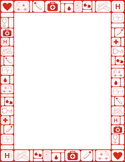 medical clipart boarder