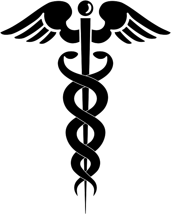 Medical clipart health care provider. Doctor symbol caduceus png