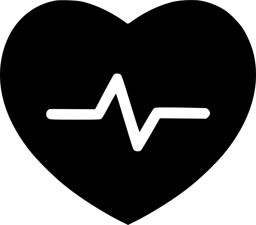 Medical transparent heart. Free health icon download