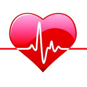 Medical transparent heart. Png images and clipart