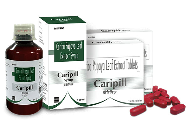 Medicine transparent allopathic. Caripill uses for dengue