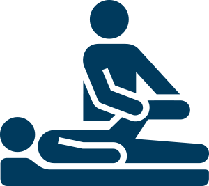 Vector rehabilitation icon. Physical therapy icons png