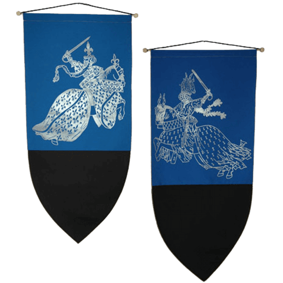 Medieval banner png. Tournament knights set ed