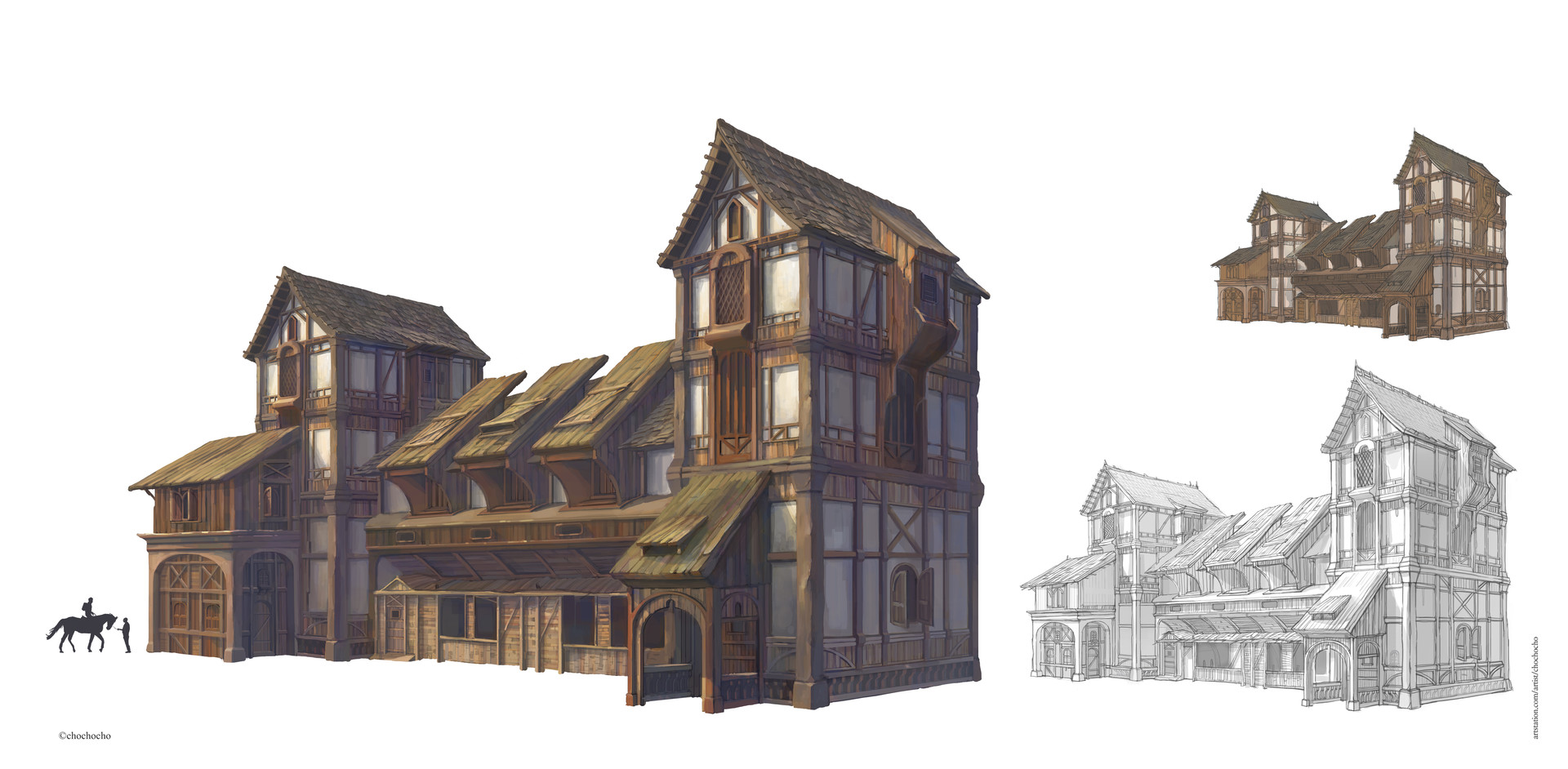 Medieval clipart hut. House drawing at getdrawings